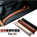 Auto parts car styling For Honda Civic 9th 2012-2014 cr-v car seat aperture article plug the leak proof pad car styling 2pcs/lot