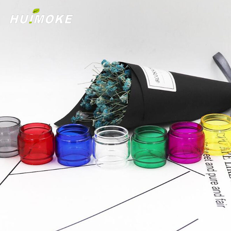Multi-Color E-Cigarrete Fatboy <font><b>Bulb</b></font> Version Pyrex <font><b>Glass</b></font> Tube Replacement For 100% Original SMOK <font><b>TFV12</b></font> Baby <font><b>Prince</b></font> Tank image