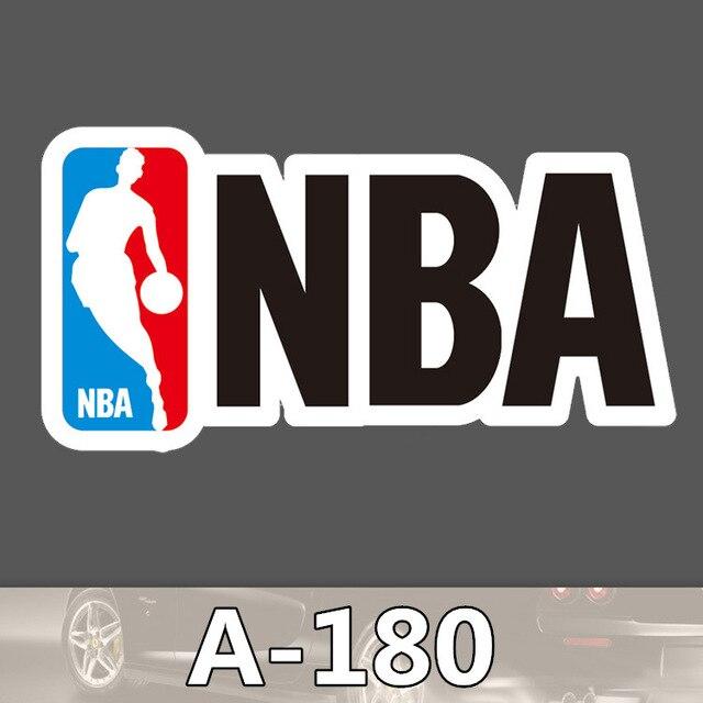 Funny hit stickers nba logo pvc a 180 single sticker cartoon boot home decor jdm