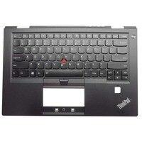New Original for Lenovo ThinkPad X1 Carbon Gen 4 Palmrest Upper Case + Keyboard US Backlit 01AV154 01AV193