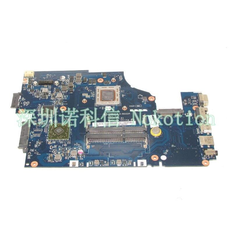 NOKOTION NBMLD11002 NB. MLD11.002 LA-B222P mère D'ordinateur Portable Pour Acer E5-551 A10-7300 carte Principale test complet