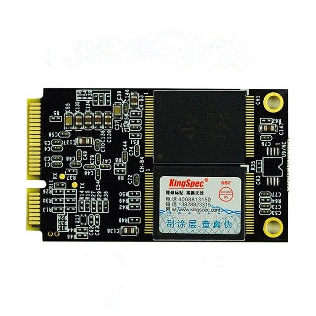 KINGSPEC msata 64 ГБ mini PC SATAIII MLC Flash внутренняя msata SSD хранения Твердотельный жесткий диск для Планшетных/ноутбук/desktop