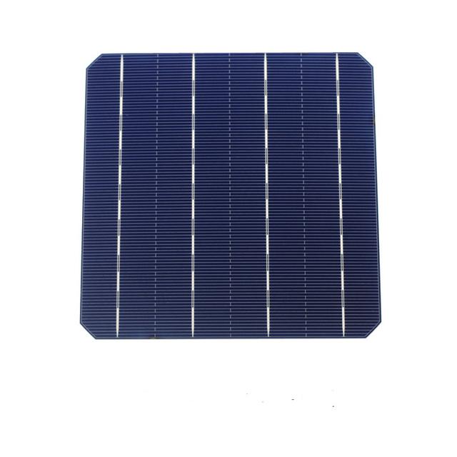 10 Pcs 4.7W 156MM Photovoltaic Monocrystalline Solar Panel Solar Cells 6×6 High Efficiency Grade A For DIY Solar Modules