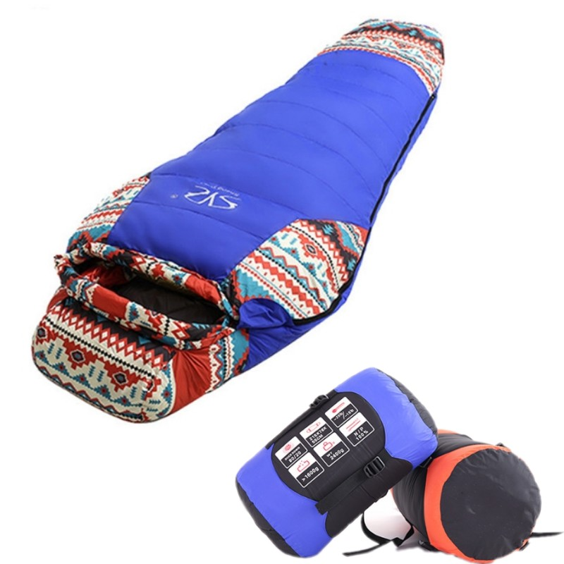 Ultralight Sleeping Bag 320T Waterproof Nylon Fill with 1500g White Duck Down Outdoor Lazy Bag Camping Adult Sleeping Bags adult down outdoor camping sleeping bag mummy model sleeping bag with waterproof nylon sleeping bag