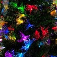 Led10 m 100 led fibra ottica lanterna lampeggiatore lampada set luce creativa di notte albero Di Natale fata nozze vacanze decorazione lampade