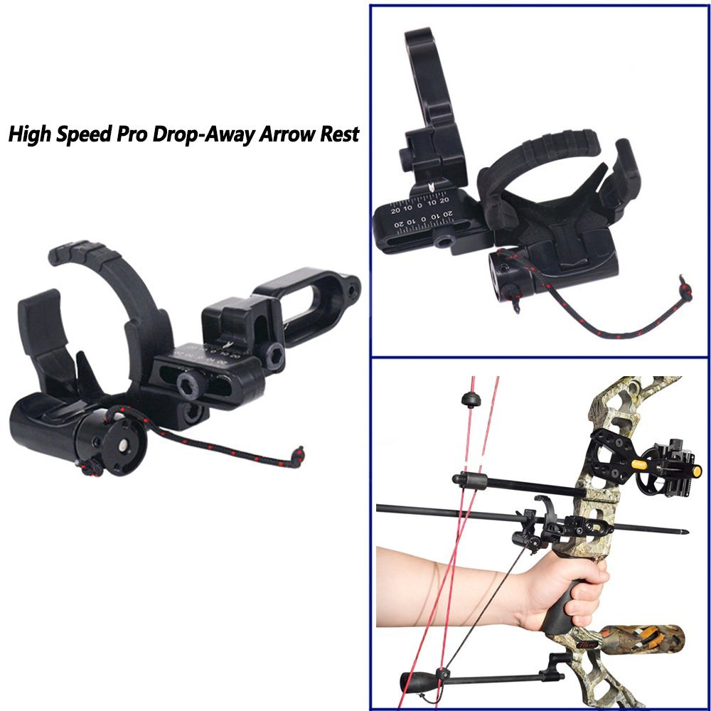 Compound Bow Accessories Drop Away Arrow Rest Set LH & RH for Archery Hunting Shooting luxury drop away arrow rests fall away right hand purple bow and arrow set dorp proof arrow rest for hunting archery cl51 0005