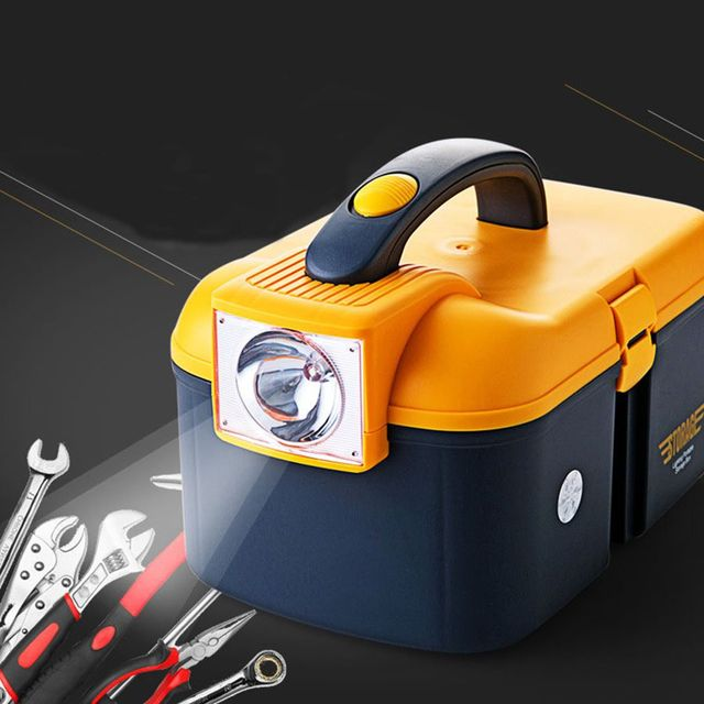 Large Size High Quality LED Torchlight Fishing Tackle Box