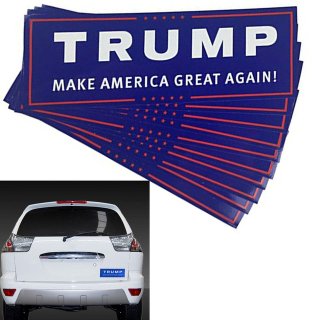 Bumper Sticker - Trump MAGA (10pcs) 2