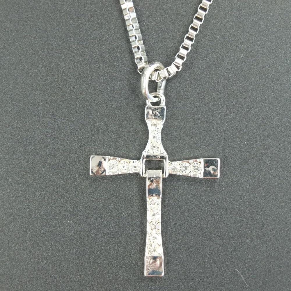 Vin Diesel Cross Necklace: Actor Dominic Toretto / Vin Diesel Cross Necklace For Men