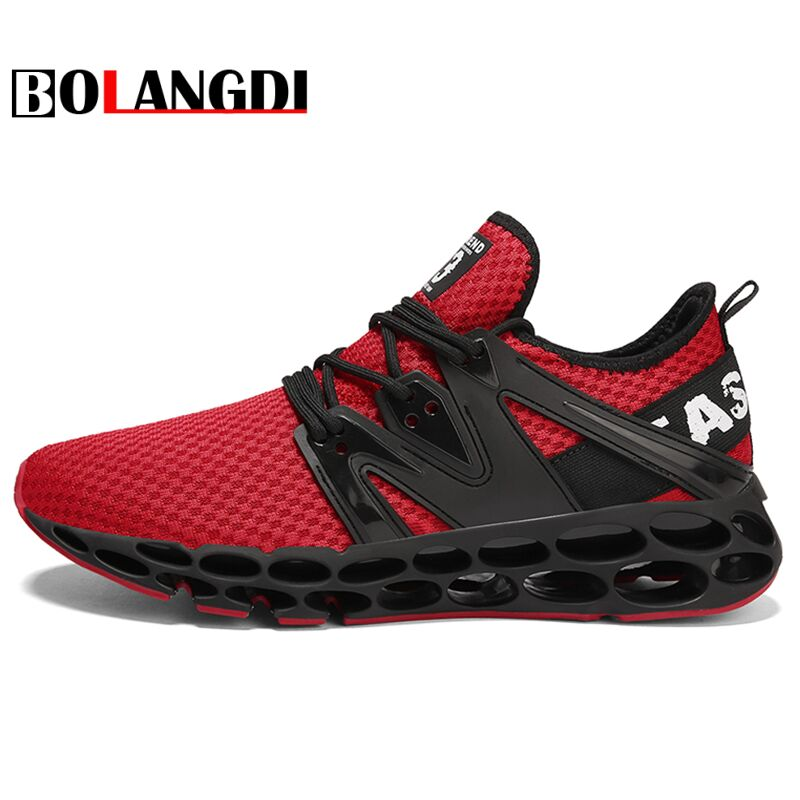 Bolangdi 2018 New Summer Sneakers for Men Mesh Breathable Outdoor Sport Fitness Lightweight Running Shoes Walking Training Shoes summer running shoes mesh men walking camping shoes outdoor sport breathable running shoes