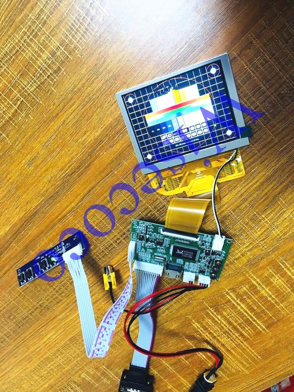 NEW 4:3 800*600 TFT 3.5 inch LCD screen display with VGA+HDMI+AV Controller driver boardNEW 4:3 800*600 TFT 3.5 inch LCD screen display with VGA+HDMI+AV Controller driver board