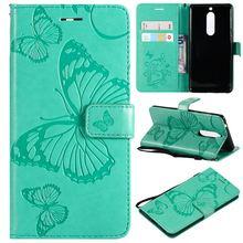 Leather Flip Case for Nokia Lumia 3 5 6 2018 N635 635 N630 N640 640 Fundas Silicone holder Fashion Magnet Cover Phone Case P06Z стоимость
