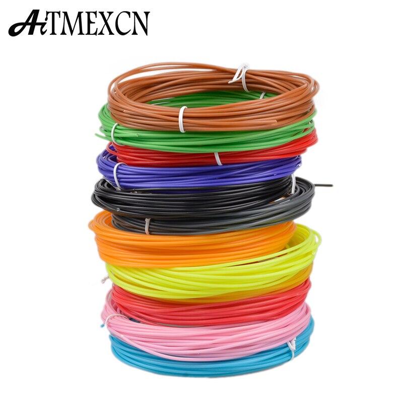 20 цветов или 10 цветов / комплект 3D Нити ABS / PLA 1,75 мм Пластиковые Резиновые Материалы для Печати Для 3D Принтер Ручка Нити