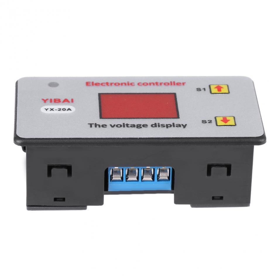 20a Battery Undervoltage Protection Controller Low Voltage Cut Off Make A Circuit Cutoff All Major Credit Cards Are Accepted Through Secure Payment Processor Escrow