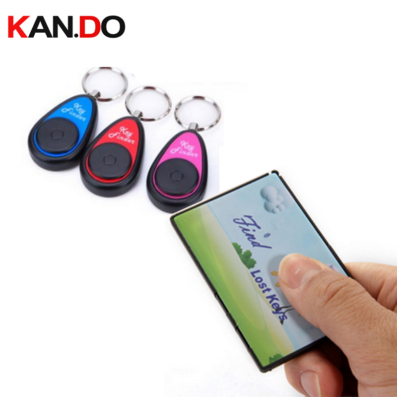 F830 name card shape finder w/ 3 receivers,Long working range remote alarm tracker Electronic Key finder anti lost alarm