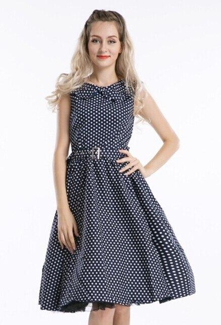 3ec2aec3a5225 free shipping new fashion Lady Vintage 50s Retro RED WINE POLKA DOT Swing  Jive Rockabilly Dress