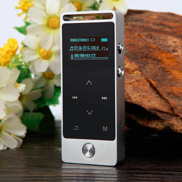 343474fefa01 2017 Más Nuevo Original de la Pantalla Táctil Reproductor de MP3 8 GB Metal  APE