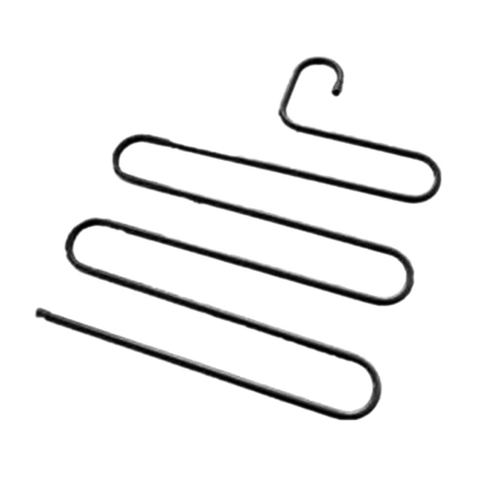(3 Paket) S-typ Edelstahl Hosen Rack Multi-funktion Lagerung Racks Haushalt Kleiderschrank Lagerung Zubehör Kleiderbügel