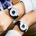 Nova Chegada Da Moda Casal Relógio de Design Mulheres Top Marca de Luxo Relógio de pulso Ocasional relógios Amantes Relógio de Quartzo Relogio feminino