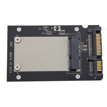 "Universal msata to 2.5"" SATA Standard Mini SSD m SATA to 2.5 inch SATA 22-Pin Converter Adapter Card for Windows Linux Mac 10 OS"
