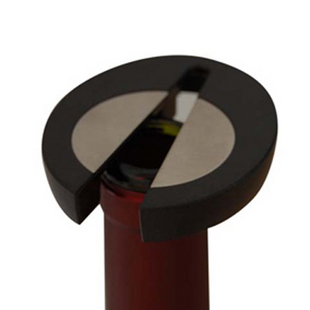 Free shipping Red wine paper cut wine bottle foil cap wine font b knife b font