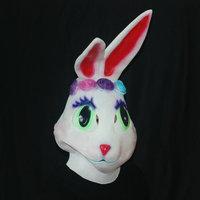 Night Dance Show Props Halloween Supplies Rabbit Mask Cartoon Mask Latex Mask