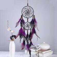 Atrapasueños hecho a mano de 11x55cm, regalo de decoración para el hogar, carillones de viento, decoración para colgar en la pared, regalo para decoración de la habitación