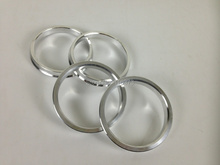 4PCS  75 to 70.1 Hub Centric Rings OD=73mm/71.12mm/72.62mm/74.1mm/75mm ID= 70.1 mm Aluminium Wheel hub ring