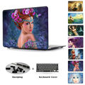 Beautiful Mermaid Pattern Clear Hard Case For Macbook Pro 13 Retina 12 15 inch Print Casefor Macbook Air 13 Case with Free Gift