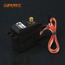 DFRobot Servomotor de engranaje de Metal, dispositivo de DSS M15S, ángulo de 270 grados, 15KG, 4,8 ~ 7,2 V, con comentarios analógicos, RC, PWM, compatible con Arduino