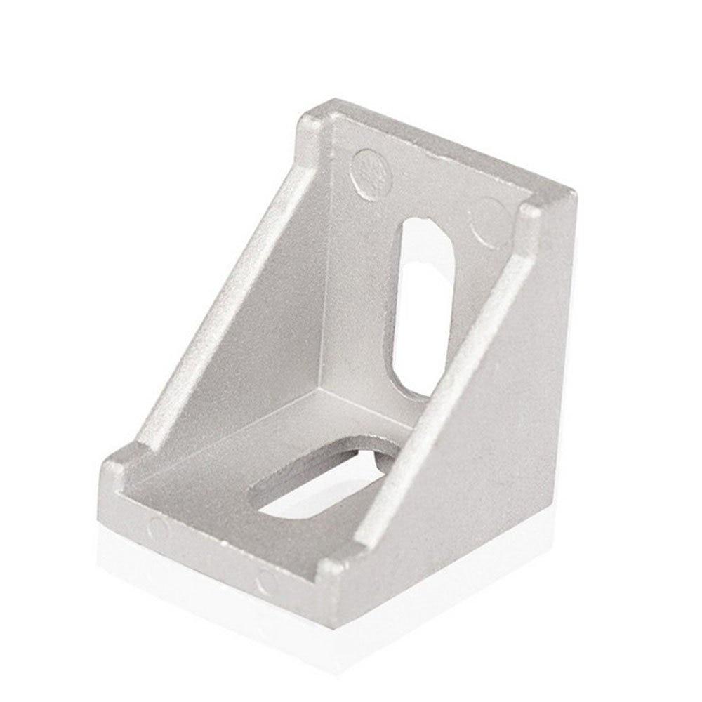 10Pcs 2020 Corner Fitting Angle Aluminum