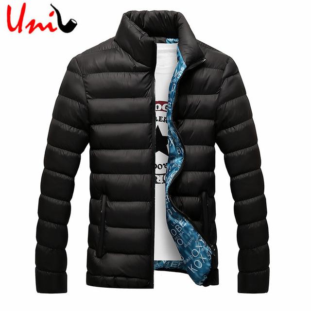 2016 de Inverno dos homens Jaquetas Homens Primavera Sólida Mistura de Algodão Mens jaqueta E Casacos Casuais Outwear Grosso Além de Roupas Masculina 4XL YN668