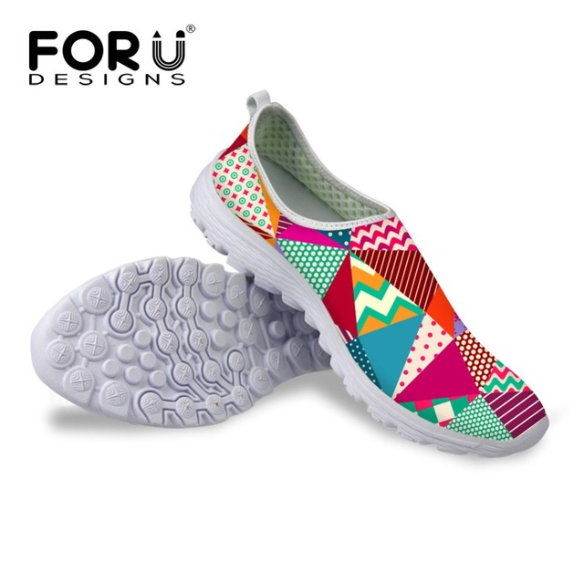 New Women Summer Mesh Shoes Super Cool Women Slip On Sport Water Shoes Comfortable Breathable Walking Shoes zapatos