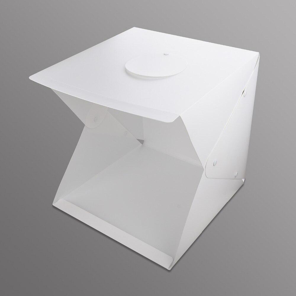 100% Nouveau 40 cm Lightbox Mini softbox LED Photo Studio Pliant boîte à Lumière Chambre de Photographie Boîte à Lumière Softbox Tente kit