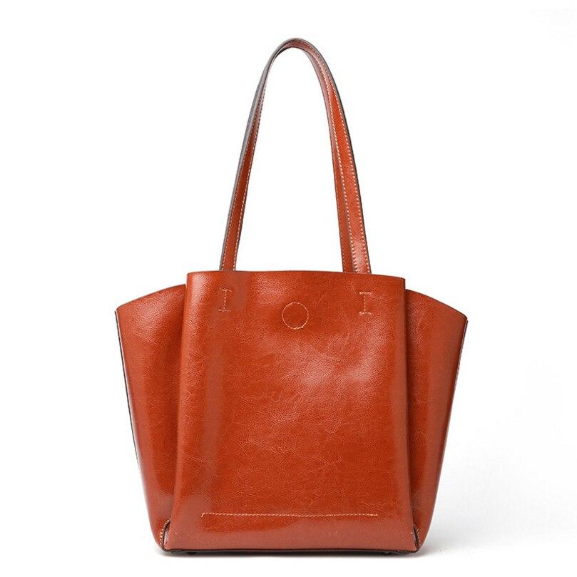 Genuine leather Bags luxury messenger women leather handbags Bucket Fashion Simpleness Ladies Messenger Bags QSL061205 маленькая сумочка messenger bags 2015 messenger bags 520