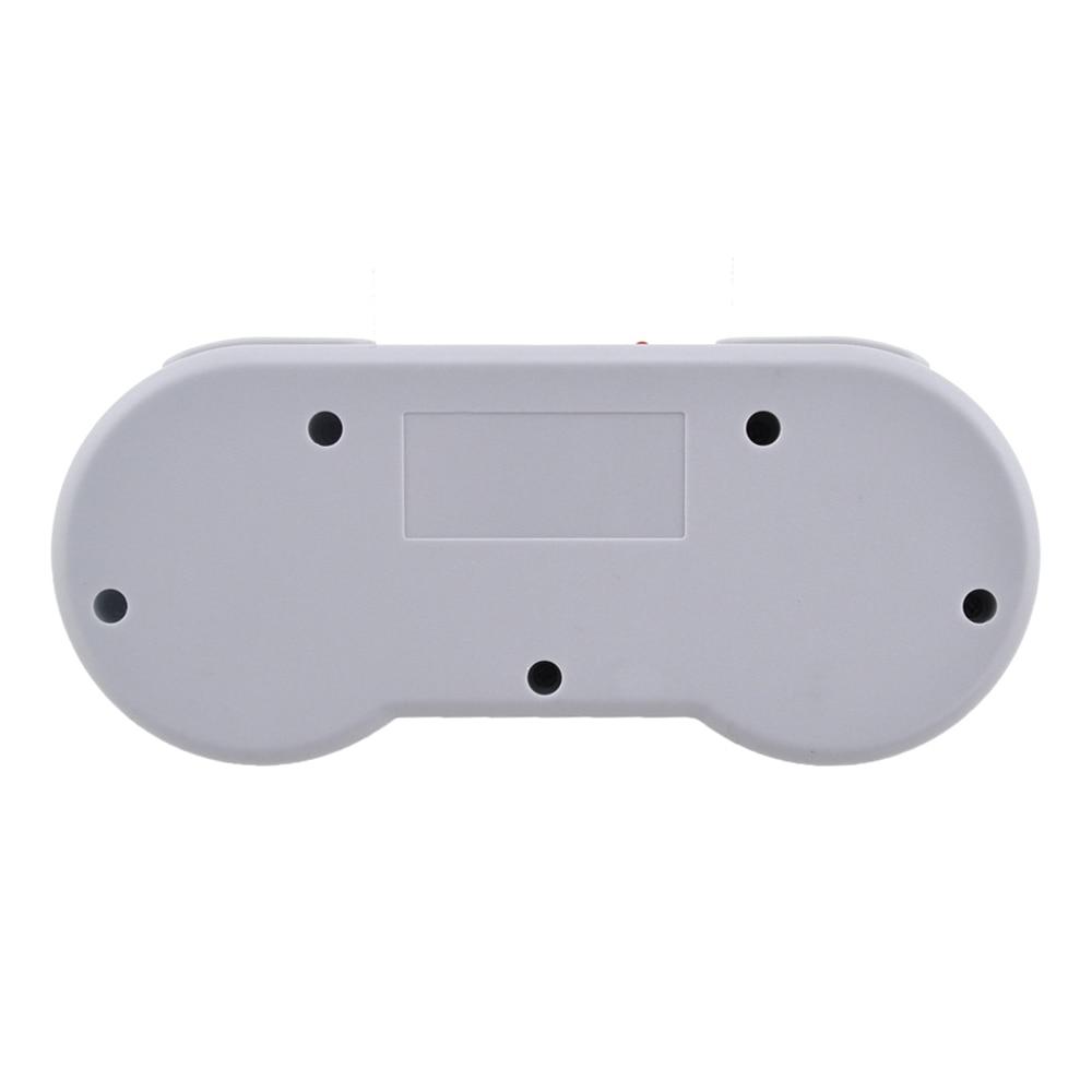 Xunbeifang 10 pcs Estilo Botão Controlador Sem Fio Gamepad para SNES mini console com turbo e clara função - 6