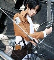 7 Parts In 1set Attack On Titan Cosplay Costume Shingeki No Kyojin Scouting Legion Women Clothes