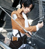 7 parts in 1set Attack on Titan Cosplay costume Shingeki no Kyojin Scouting Legion Women Clothes for Halloween cosplay