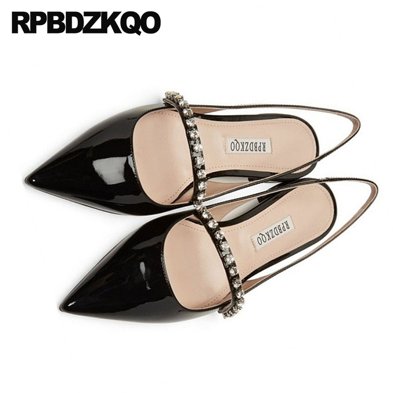 silver slingback wedding ladies beautiful flats shoes black nude gold diamond work pointed toe rhinestone patent leather womensilver slingback wedding ladies beautiful flats shoes black nude gold diamond work pointed toe rhinestone patent leather women