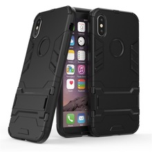 купить Ultra Slim Shockproof Hybrid PC TPU Armor Case Cover for iPhone X 5 5S SE 5C 6 8 Plus 7 Plus Protective iPhone Busines Cases по цене 191.49 рублей