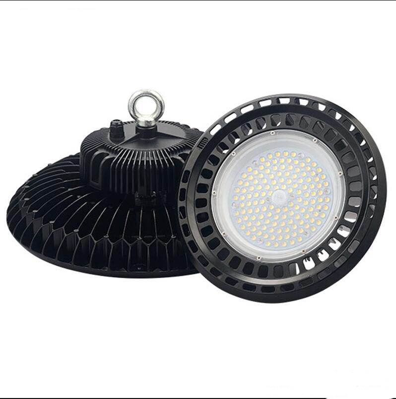 IP65 UFO به رهبری نور خلیج بالا 150W LED انبار نور بسکتبال بسکتبال ورزشگاه زمین ورزش زمین 150W خلیج روشنایی 5 سال ضمانت