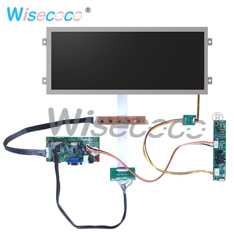 12.3 pouces résolution 1920*720 HDMI affichage HSD123IPW1 A00 40 broches LVDS VGA pour l'instrumentation automobile - 2
