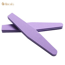 cc1584e81dd 2PC Nail Buffer Diamond Washable Double Sided Sponge File 100 180 Polish  Block Professional Grinding Manicure Tools nail polish