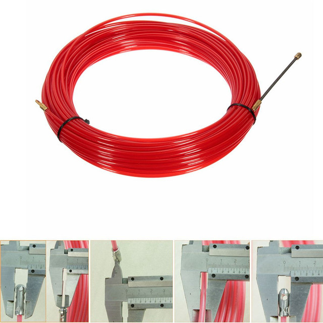 Aliexpress.com : Buy Nylon Steel Red Fish Draw Tape Electrical Cable ...