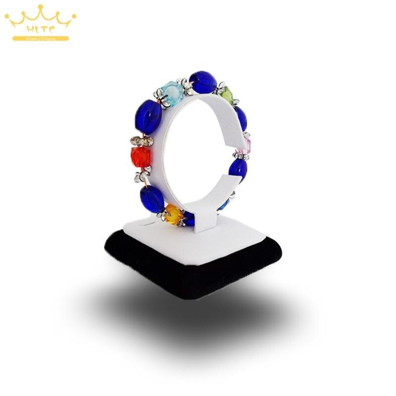 Ювелирные изделия дисплей вертикальный браслет часы воротник башня стенд для браслет ювелирные изделия Поставка деревянный держатель ювелирных изделий