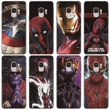Marvel Avengers Case Para Coque Samsung Galaxy A70 A51 A71 A50 A7 A8 A6 Plus A9 2018 S20 S10 S8 S9 Plus Ultra S10e TPU Soft Case(China)