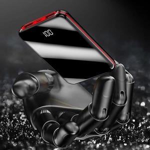 Image 5 - 10000mah mini power bank Tragbare USB Batteria Ladegerät power externe batterie pover bank für iPhone X Samsung xiaomi Huawei