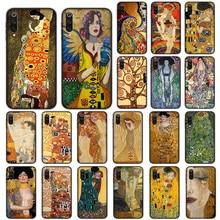 Gustav Klimt Paintings Soft Case for Xiaomi Mi9 Mi8 Mi6 Lite