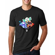 cccb571d6 2018 New Fashion Poke-Starters Men T Shirts Alola Starter Printed Vest Funny  cool Tee