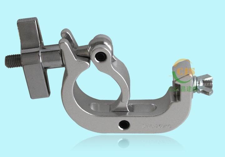 8pcs big type light hook for beam light moving head light led stage lighting 48-51mm trussing clmap TUV 250kg quick clamp